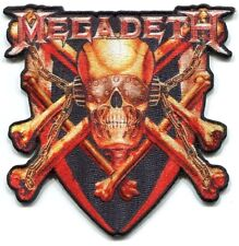 MEGADETH killing is my business EMBROIDERED IRON-ON PATCH *Free Shipping* p4247
