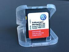 VW Skoda Seat RNS315 SAT NAV Mappa Europa SD Card Regno Unito di navigazione GPS Aggiornamento