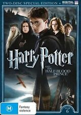 Harry Potter And The Half-Blood Prince Year 6 DVD : NEW