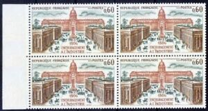 France 1973 MNH Blk 4, Industrial exposition