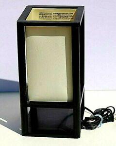 Mainstays Black Shelf Table Lamp