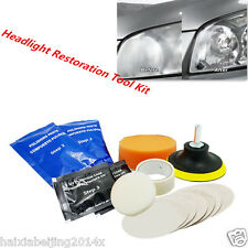 Car Auto Headlight Headlamp Lens Restoration Brightener Light Lamp Restore Tool