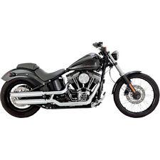 Escape Para Harley-Davidson Blackline Vance And Hines Twin Slash Chrome Exhaust
