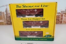 S Helper Showcase Line S Gauge No.00778 PRR 55 Ton Composite Hopper 3 Car Set