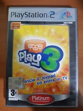 EYETOY: PLAY 3 PLATINUM - PLAYSTATION 2 PS2 USATO