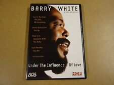 MUSIC DVD / BARRY WHITE - UNDER THE INFLUENCE OF LOVE