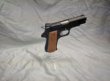 """Display Stand, Pistol, Acrylic 9mm Single Stack Magwell Stand  Clear - """"ICE"""""""