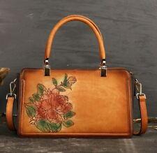 New Women Genuine Cow Leather Messenger Shoulder Bag Handbag Travel Bag Purse