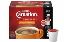 30 Nestlé Carnation Hot Chocolate Rich & Creamy Keurig K-Cup Pods