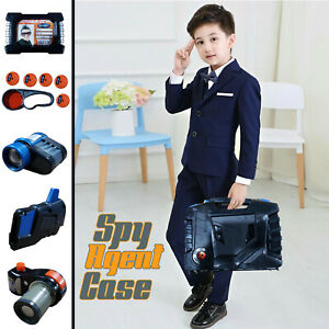 6 Gadgets Secret Mission Case Indoor Outdoor SPY Children Toys Fun Activity