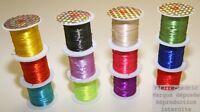 Bobine de Fil élastique 10m Fil Fin Ideal pour Création Bracelet Perles !