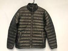 Patagonia Men's Down Sweater Jacket Gray Coat Size M 84674FA19