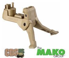 MAKO Fab Defense Tavor Quick Deployment Bipod for TAR 21 Models Tar Podium Tan