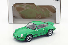 Porsche 911 RSR 2.8 1973 verde coche modelo 1 18 solido