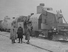 Austrian armored train panzerzug in Galicia 1914 World War I 8x10 Photo