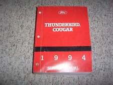 1994 Mercury Cougar Shop Service Repair Manual XR7 Coupe 3.8L 4.6L V8