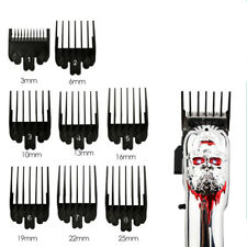 8Pcs Universal Hair Clipper Limit Comb Guide  Size Attachment Barber Replacement