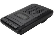 ONN Cassette Recorder Player with External Microphone Built In Speaker & Jack