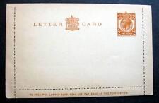 Uk Postal Stationery Letter Card 2 Pence Kgv Mint