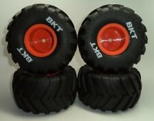 New Axial BKT 2.2 Monster Jam Truck Wheels & Tires SMT 10 Max D / Grave Digger