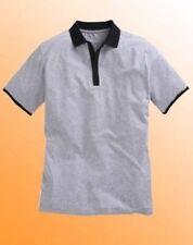 Camicie casual e maglie da uomo grigie elasticizzato