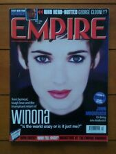 Empire April 2000 Winona Ryder, George Clooney, The Insider, Frank Darabont,