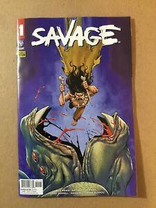 Savage # 1 Preorder Edition Valiant 2021
