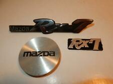 VINTAGE MAZDA RX 7 AUTO CAR AUTOMOBILE EMBLEM BADGE LOT