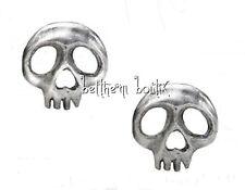 Goth : Alchemy Boucle d' Oreille Clous Tête de Mort Skully Gothique