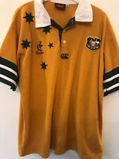 Australia Rugby Union Polo Shirt Size XL Excellent Condition.