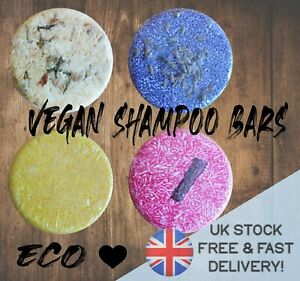 VEGAN SHAMPOO BARS eco friendly environmental HEALTHY HAIR + body BIRTHDAY gift