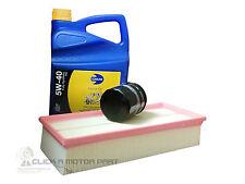 ALFA ROMEO 147 1.6 2.0 01-10 OIL AIR FILTER 5L 5W40 SYNTHETIC OIL SERVICE KIT