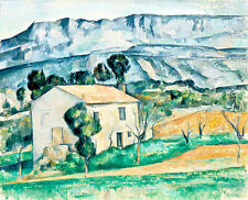House in Provence by Paul Cezanne A1+ High Quality Art Print Wall Art