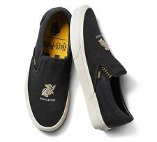 New Vans x Harry Potter Hufflepuff Classic Slip On Shoes Men's Size 10