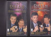 THE DREAM WITH ROY AND H.G  VHS PAL VIDEOS X 2 WEEK ONE AND TWO A RARE FIND MINT