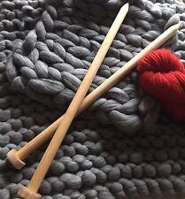 Sale Extreme Giant Big Stitch Jumbo Juey Extra Long Knitting Needles 600mm Long