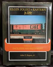 MORNING SUN BOOKS - ELGIN JOLIET & EASTERN Volume 3 In Color - HC 128 Pages