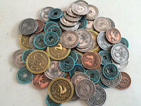 Scythe Metal Coins, Coins in Metal, New by Stonemaier Games