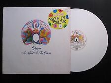 QUEEN  :  A Night At The Opera 1976 French White Coloured Vinyl LP France DC 10