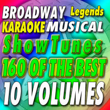 Legends Vol 1-10   Karaoke CDG CDs Broadway Musical