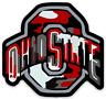 O.S.U. Camouflage Magnet Logo Type Buckeyes Ohio State
