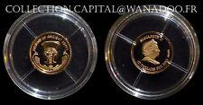 FIDJI 10 Dollars OR BE 2012 Trésor de L'Ancienne Egypte Dieu AMON-Rê