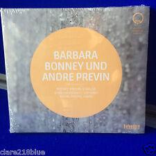 NEW SEALED Barbara Bonney und Andre Previn Mozart Previn Strauss CD
