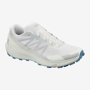 New Women's Salomon Sense Ride 3 Trail Hiking Shoes Size US 6 White 409700
