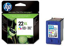 Genuine HP 22XL Tri Colour Ink Cartridge C9352CE DESKJET F2100 F2200 F2280 F2180
