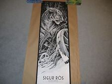 Ken Taylor Sigur Ros Variant Print Artist Edition. Metallic Inks
