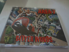 AREA-7 - BITTER WORDS - CD SINGLE *GOING CHEAP!