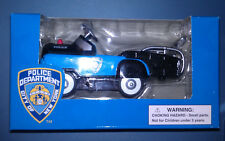 American Hero Die Cast 1:10 Scale NYPD Police Pedal Tow Truck Boys & Girls
