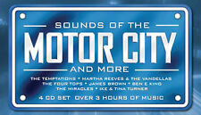 Sounds Of The Motor City 4 CD 1960s Motown Music Songs
