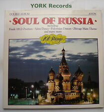 101 STRINGS - The Soul Of Russia - Excellent Con Double LP Record Avon ADL 501